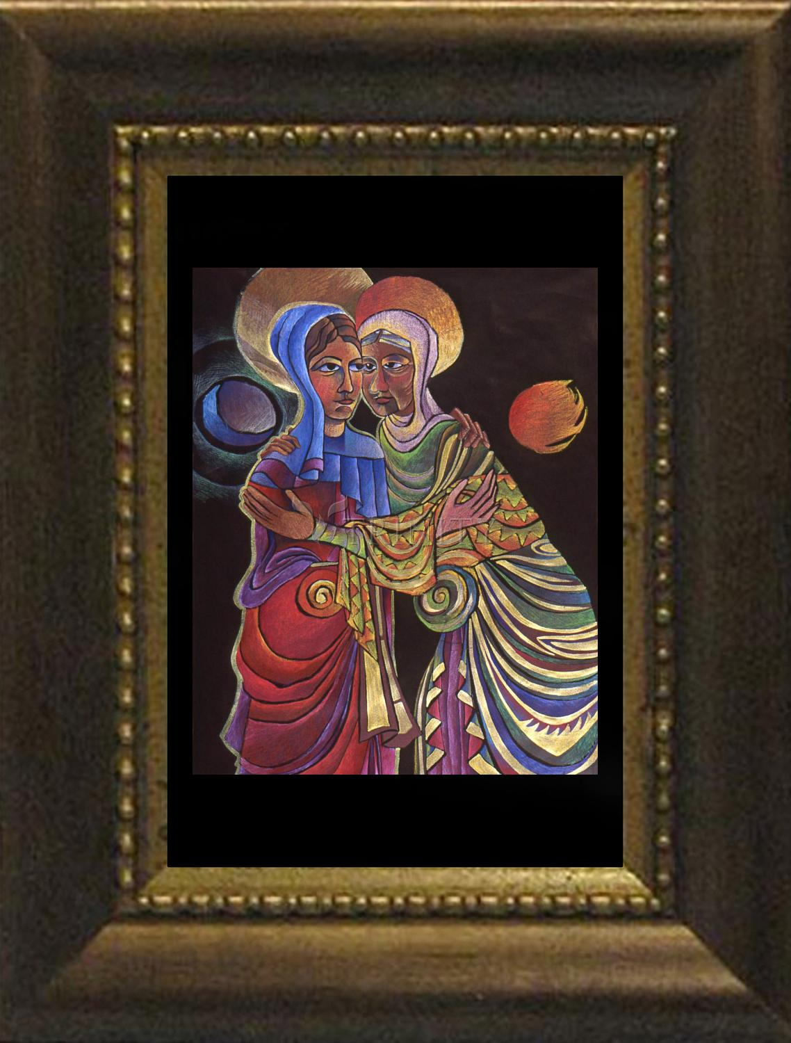 Desk Frame Visitation Sun And Moon By M Mcgrath Trinity Stores