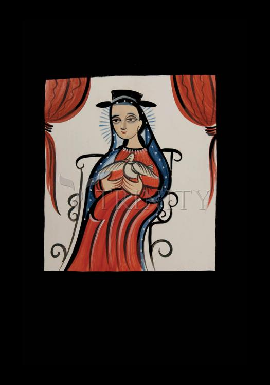 Holy Card - Soul of Mary by A. Olivas