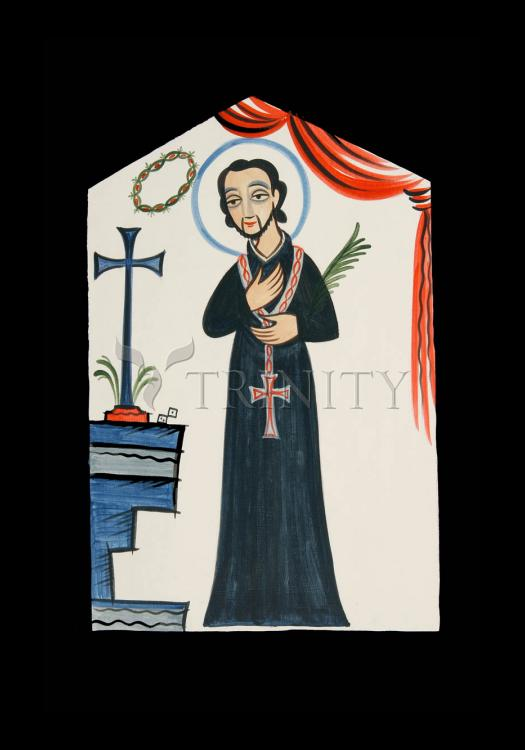 Holy Card - St. Cayetano by A. Olivas