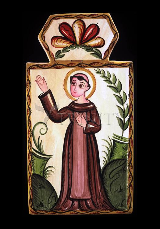 Holy Card - St. Francis of Assisi by A. Olivas