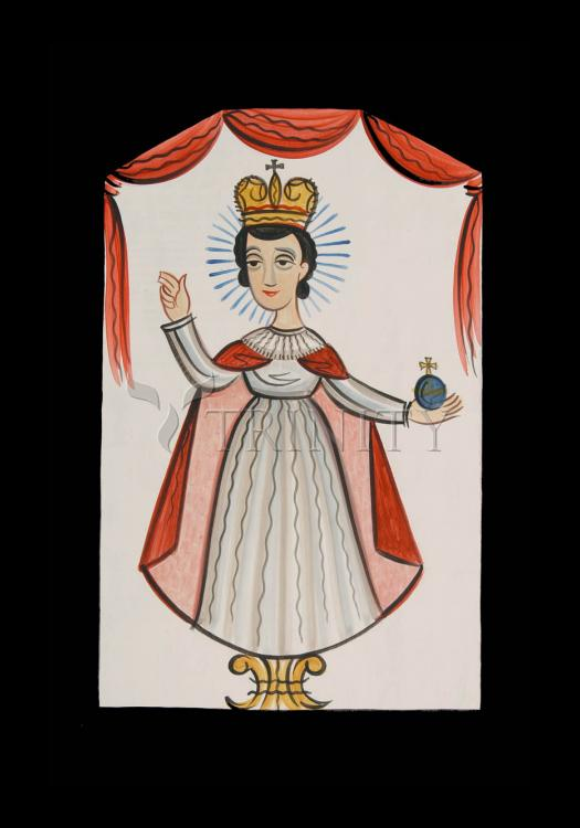 Holy Card - Infant of Prague by A. Olivas