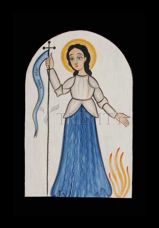 Holy Card - St. Joan of Arc by A. Olivas