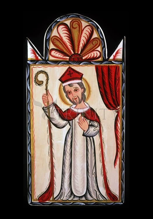 Holy Card - St. Nicholas by A. Olivas