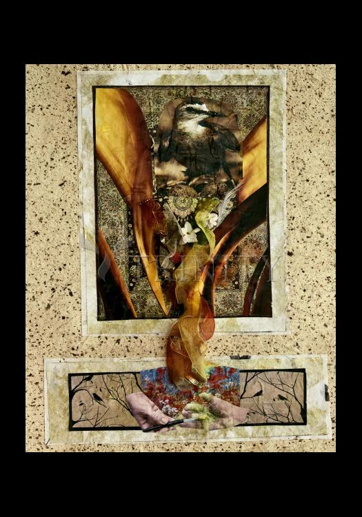 Holy Card - Birds of Paradise by B. Gilroy