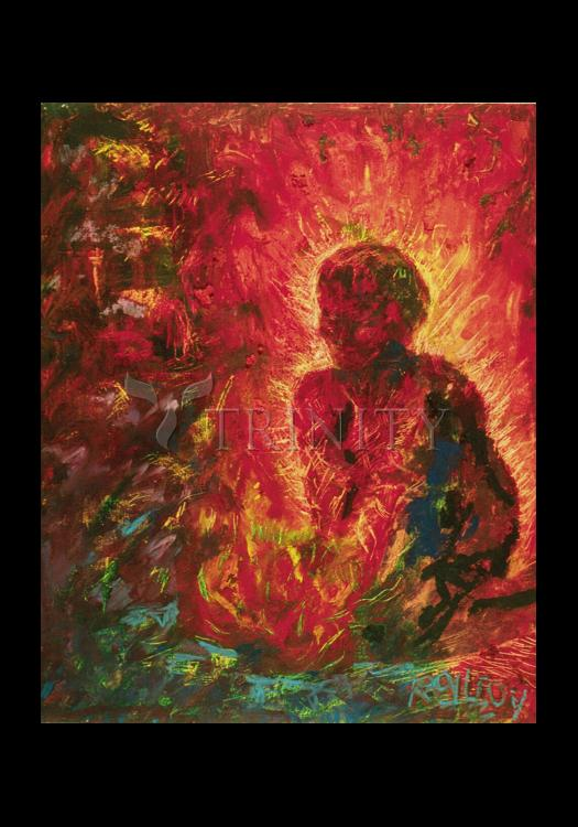 Holy Card - Tending The Fire by B. Gilroy