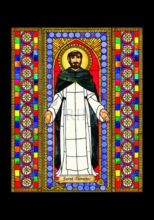 Holy Card - St. Dominic by B. Nippert