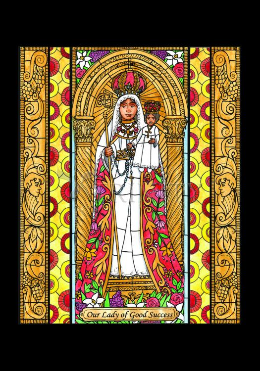 Holy Card - Our Lady of Good Success by B. Nippert