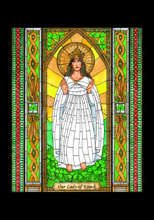 Holy Card - Our Lady of Knock by B. Nippert