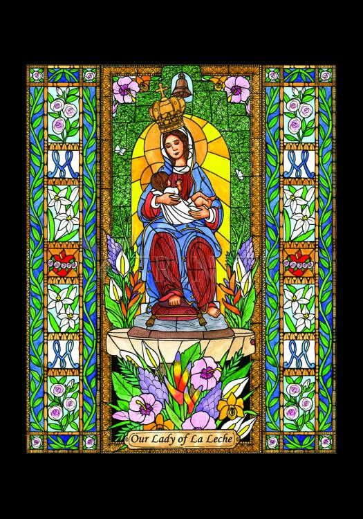 Holy Card - Our Lady of the Milk by B. Nippert