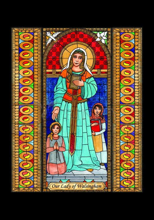 Holy Card - Our Lady of Walsingham by B. Nippert