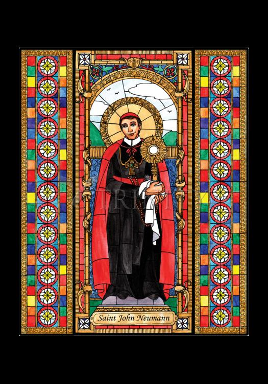 Holy Card - St. John Neumann by B. Nippert