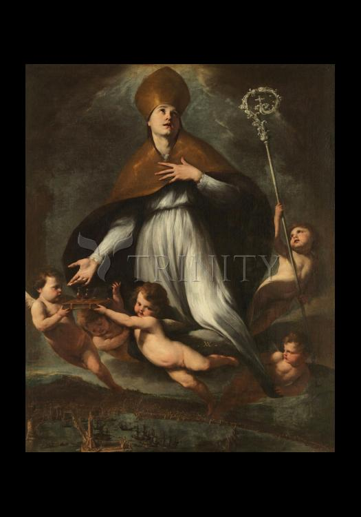 Holy Card - Ascension of St. Gennaro by Museum Art