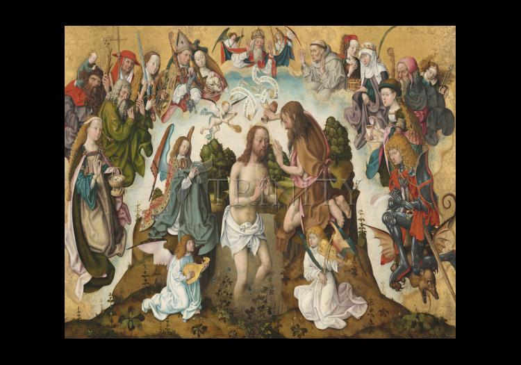 Holy Card - Baptism of Christ by Museum Art