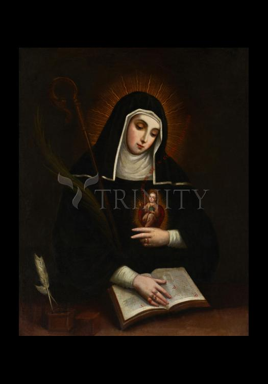 Holy Card - St. Gertrude by Museum Art