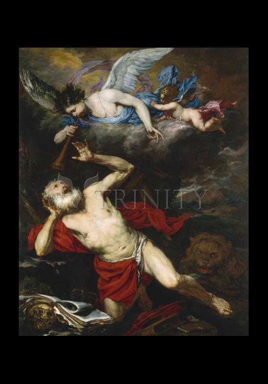 Holy Card - St. Jerome in the Wilderness by Museum Art