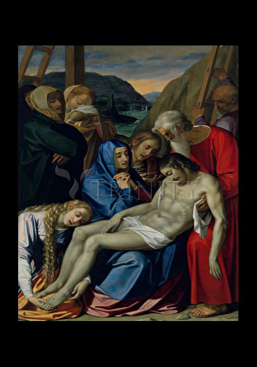 Holy Card - Lamentation by Museum Art