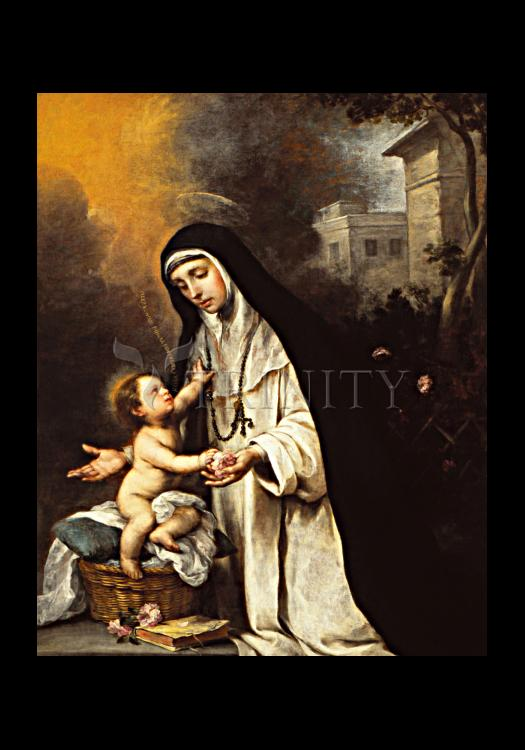 Holy Card - St. Rose of Lima by Museum Art