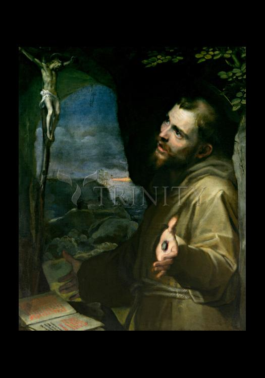 Holy Card - St. Francis of Assisi by Museum Art