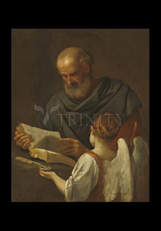 Holy Card - St. Matthew and Angel by Museum Art