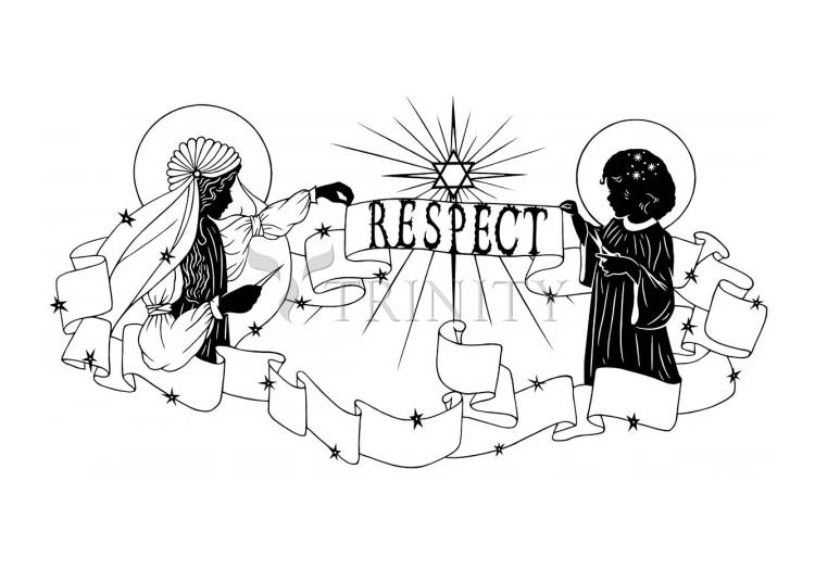 Holy Card - Respect by D. Paulos