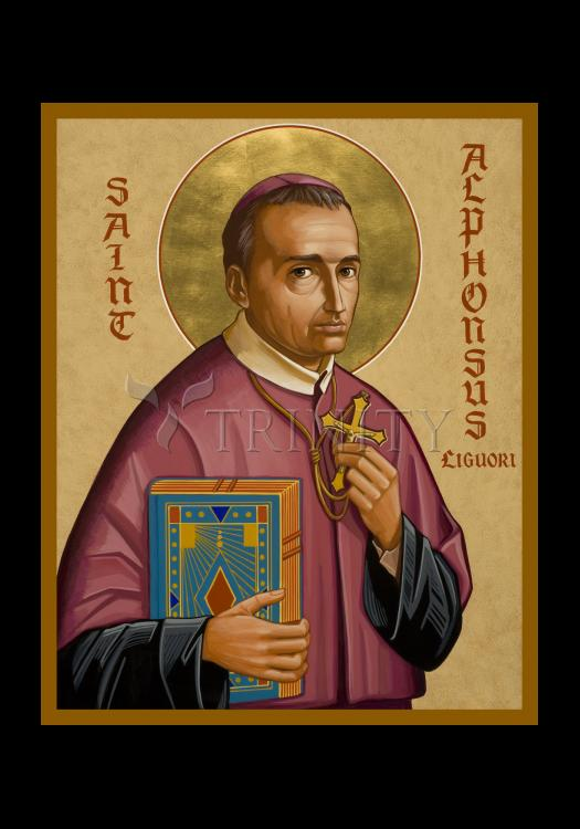 Holy Card - St. Alphonsus Liguori by J. Cole