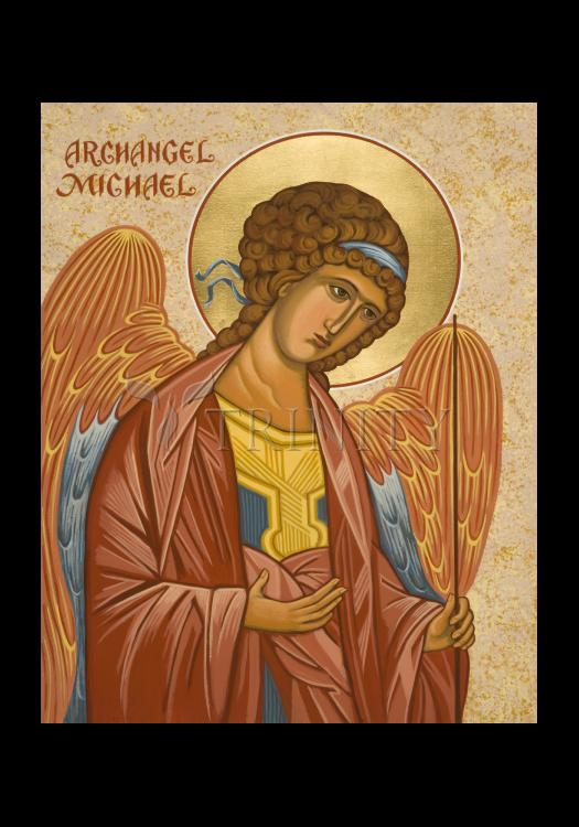 Holy Card - St. Michael Archangel by J. Cole
