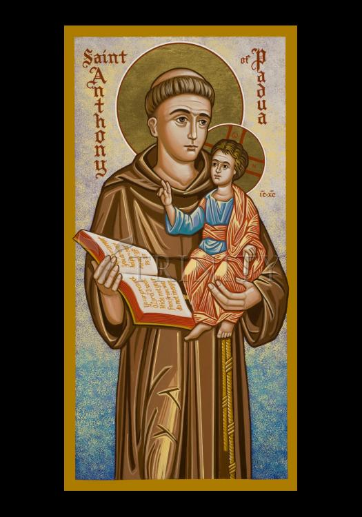 Holy Card - St. Anthony of Padua by J. Cole