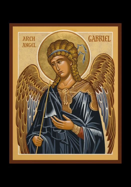 Holy Card - St. Gabriel Archangel by J. Cole