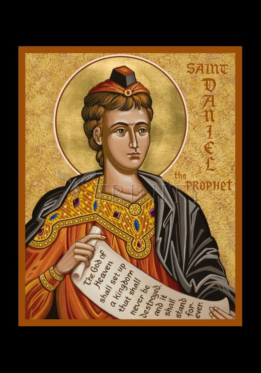 Holy Card - St. Daniel the Prophet by J. Cole