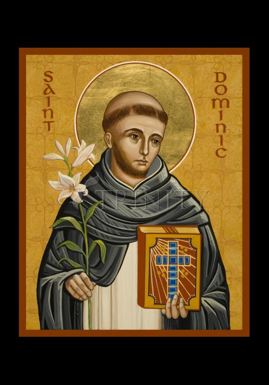 Holy Card - St. Dominic by J. Cole
