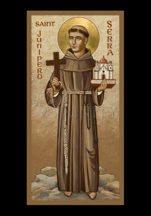 Holy Card - St. Junipero Serra by J. Cole