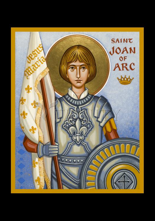 Holy Card - St. Joan of Arc by J. Cole