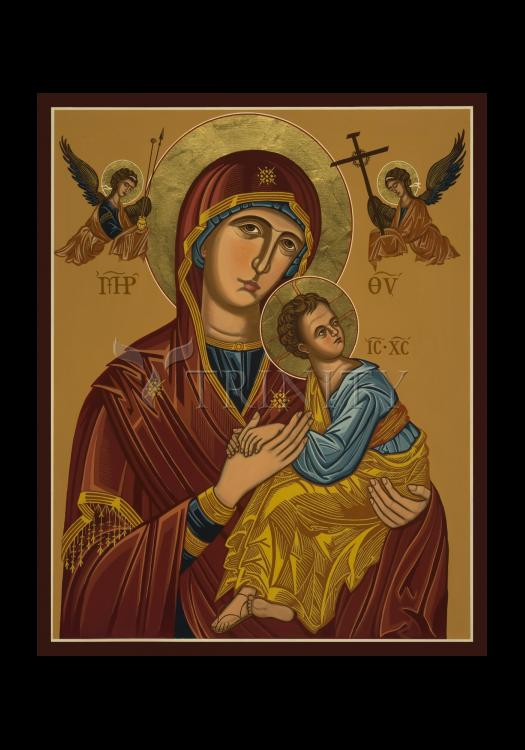 Holy Card - Our Lady of Perpetual Help -  Virgin of Passion by J. Cole