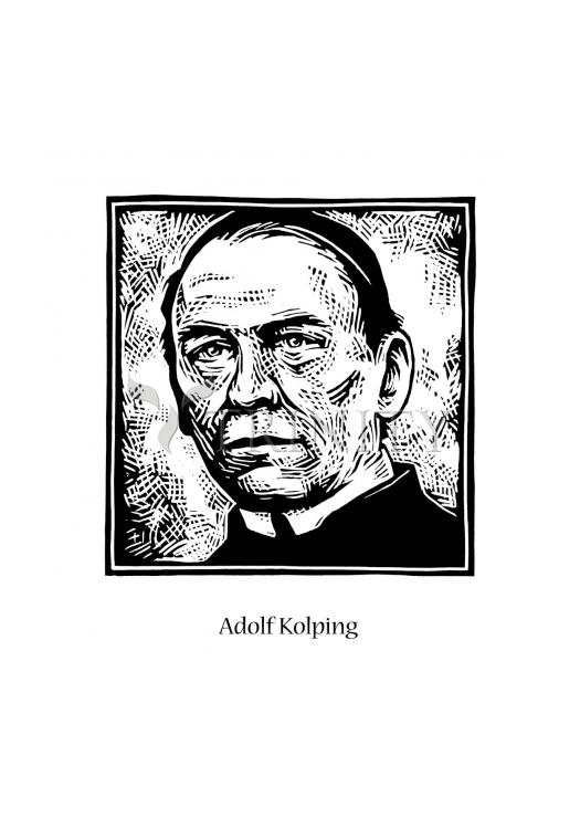 Holy Card - St. Adolf Kolping by J. Lonneman