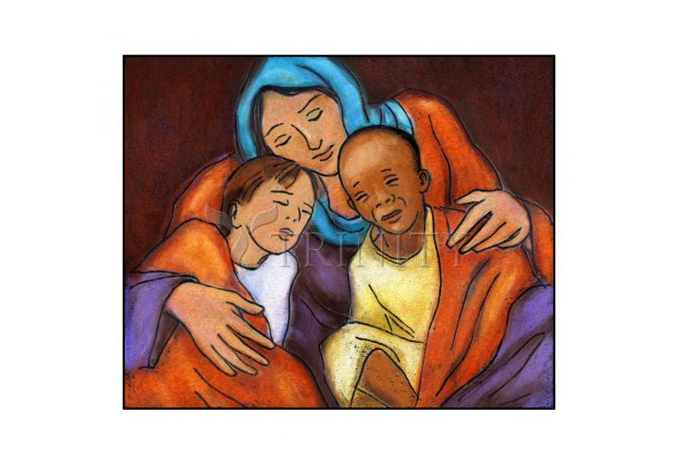 Holy Card - Mother of Mercy by J. Lonneman