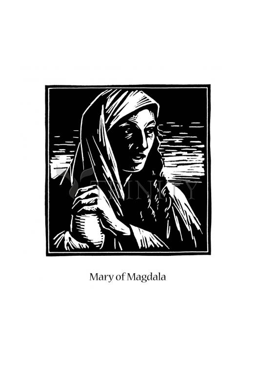 Holy Card - St. Mary Magdalene by J. Lonneman