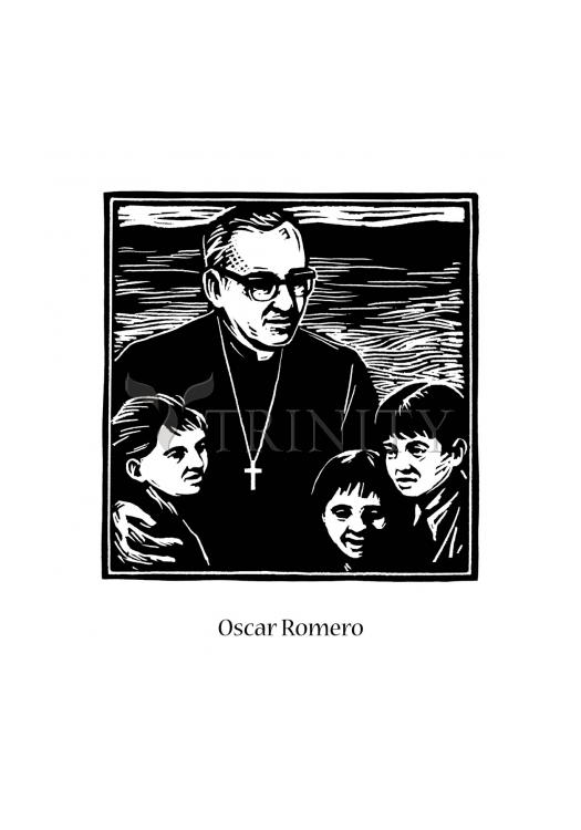 Holy Card - St. Oscar Romero by J. Lonneman