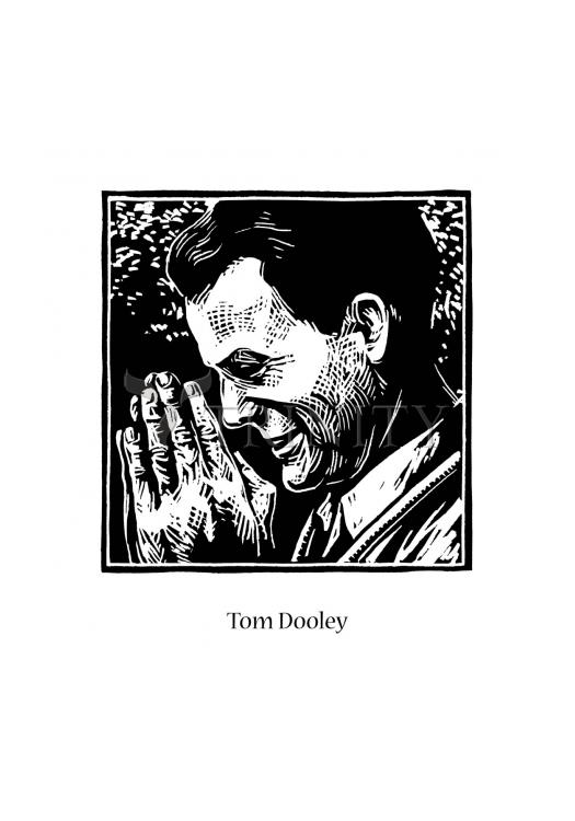 Holy Card - Tom Dooley by J. Lonneman