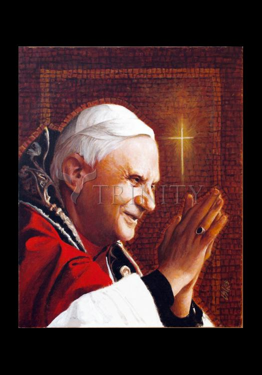 Holy Card - Pope Benedict XVI by L. Glanzman
