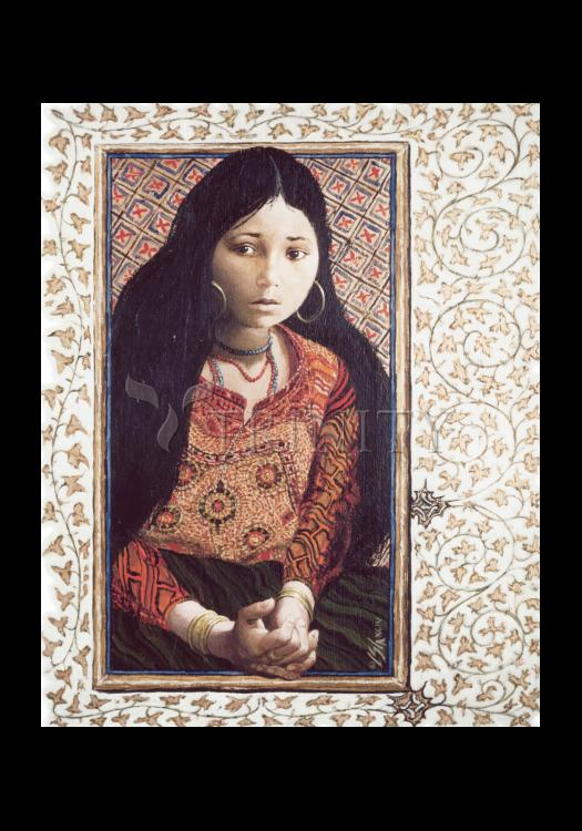 Holy Card - The Daughter of Jairus by L. Glanzman