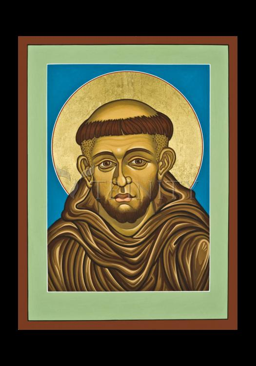 Holy Card - St. Francis of Assisi by L. Williams