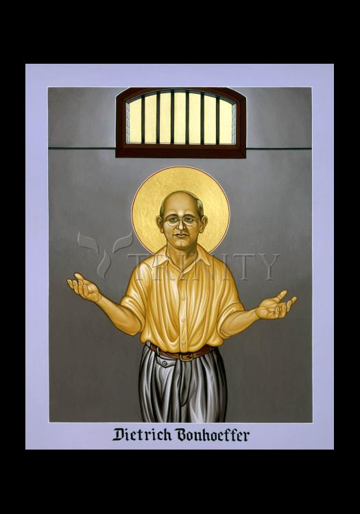 Holy Card - Dietrich Bonhoeffer by L. Williams