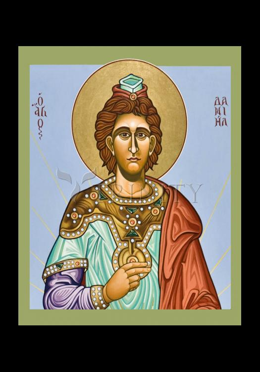 Holy Card - St. Daniel the Prophet by L. Williams