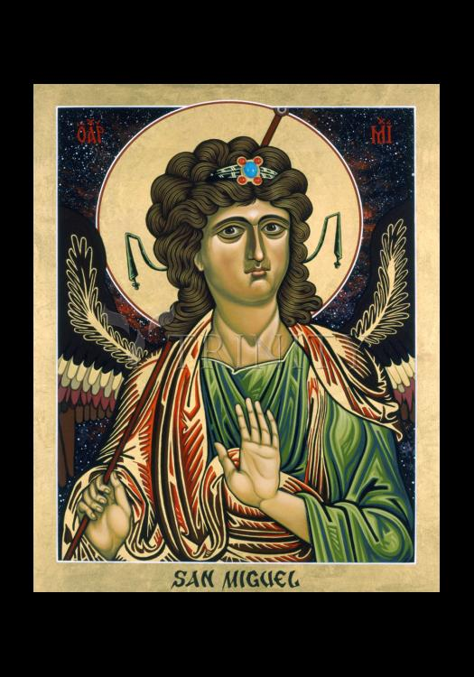 Holy Card - St. Michael Archangel by L. Williams