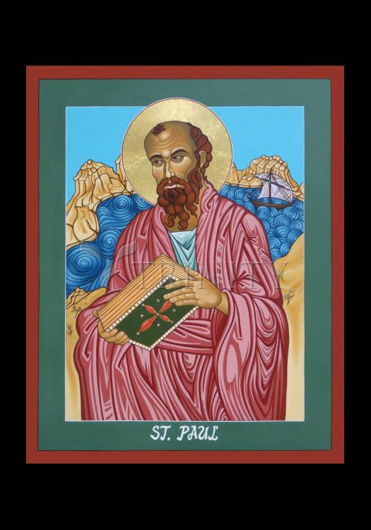 Holy Card - St. Paul of the Shipwreck by L. Williams