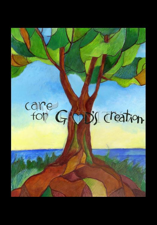 Holy Card - Care For God's Creation by M. McGrath