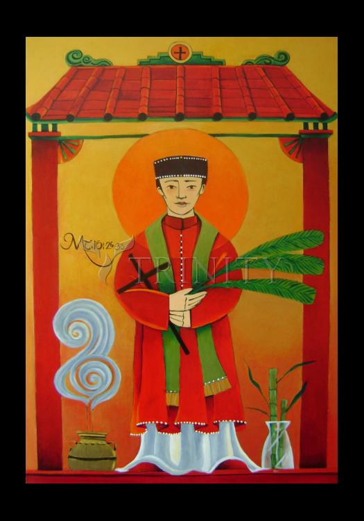 Holy Card - St. Andrew Dung-Lac by M. McGrath