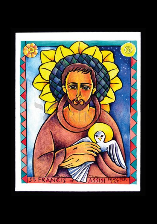 Holy Card - St. Francis of Assisi by M. McGrath