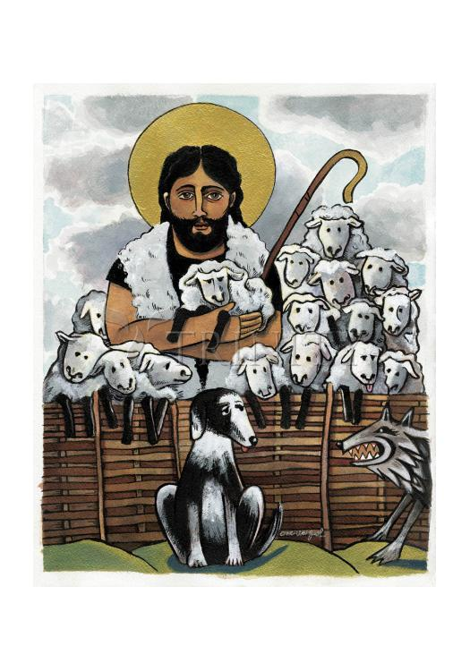 Holy Card - Good Shepherd by M. McGrath