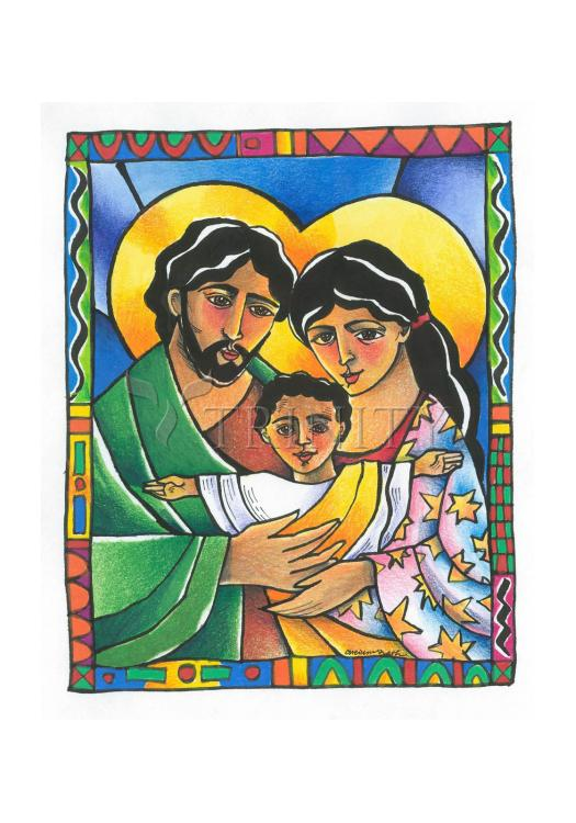 Holy Card - Holy Family by M. McGrath